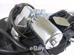 125CC FULLY AUTO ELECTRIC ENGINE with Top Mount Starter ATV MOTOR V EN16-SET