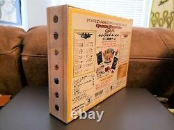 1998 Pokemon Sealed Japanese Red Green Gift Quick Starter Decks SUPER RARE SET