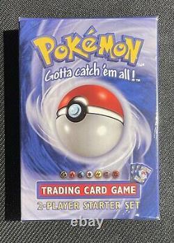 1999 Pokemon Game 2 Player Starter Set(Deck) Base Set Factory Sealed