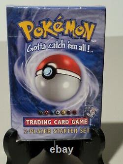 1999 Pokemon Orinal Base Set 2 Player Starter Set Factory Sealed Wotc Nintendo