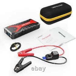 20800mAh 12V Car Jump Starter Portable USB Power Bank Battery Booster 2000A Peak