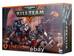 40K Tau Space Marines Kill Team Starter Set NEW in BOX Rules Dice Deck Warhammer