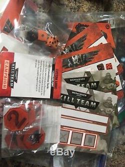 40k 1st Ed Kill Team Starter Set Used OOP Warhammer Skitari Promo Rare terrain