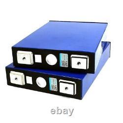 4Pcs LiFePO4 Battery Set 100Ah 3.2V Lithium Iron Phosphate Solar Starter Battery
