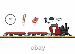 90463 LGB Marklin G Narrow Gauge Garden Railway Building Block Train Starter Set