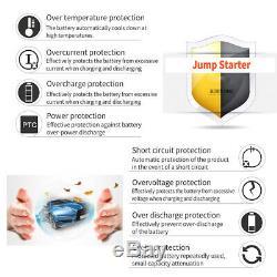 99900mAh Portable 12V Car Jump Starter Power Bank Booster USB Charger