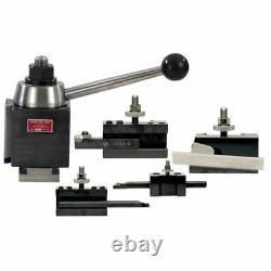 Aloris #2-bs 5 Pc. Bxa Starter Set Tool Post & Lathe Holders Cnc USA