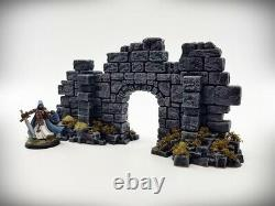 Ancient Ruin Starter Set 10 Pieces Tabletop Wargaming RPG AoS WH 40K terrain