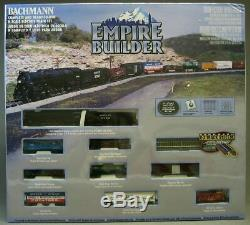 BACHMANN 24009 N SCALE Great Northern Empire Builder Train Set READY TO RUN