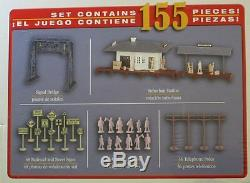BACHMANN HO CHATTANOOGA NC & STL THE DIXIE LINE TRAIN SET steam engine 00626 NEW