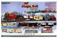 BACHMANN TRAINS HO Jingle Bell Christmas Express Train Set BAC724