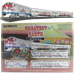 Bachmann 00749 Ringling Bros. Barnum & Bailey The Greatest Show Train Set HO Scle