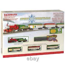 Bachmann 24017 Spirit of Christmas Train Set N Scale