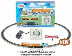 Bachmann 24028 N Thomas Tank withAnnie & Clarabel Train Set Lower Price