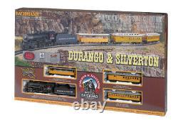 Bachmann HO Durango & Silverton Steam Engine Train Set 00710 NIB Bachman H-O NEW