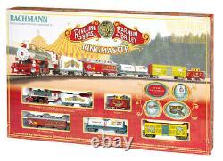 Bachmann HO Ringling Bros. & Barnum & Bailey Ringmaster Train Set 00714 H-O NEW
