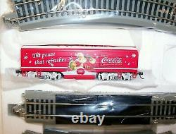 Bachmann Ho Hawthorne Village Coca Cola Christmas Through The Years Train Set