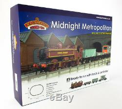 Bachmann Midnight Metropolitan London Transport Trainset BNIB