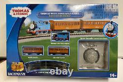 Bachmann N Scale Thomas With Annie & Clarabel N Scale Electric Train Set, New