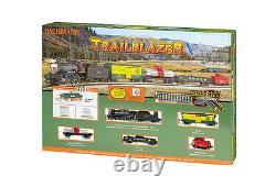 Bachmann N gauge Trailblazer Steam Train Set 24024 Bachman NIB