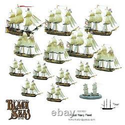 Black Seas 792011001 Royal Navy Fleet (Starter Set) British Ships Warlord Games