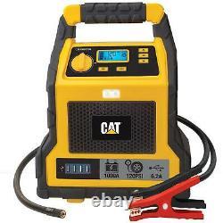 CAT 1000Peak Amp Professional Portable Car Power Jump Starter & Compressor & USB