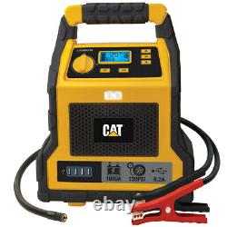 CAT USB Portable Car Jump Starter Booster Battery Charger Pack Air Compressor
