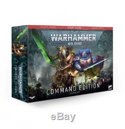 Command Edition Starter Set Space Marines Necrons Warhammer 40K NIB
