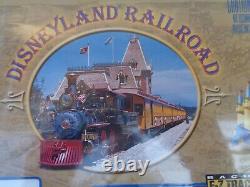 DISNEYLAND 50th YEAR ANNVERSARY TRAIN SET-BRAND NEW, SEALED, N-SCALE