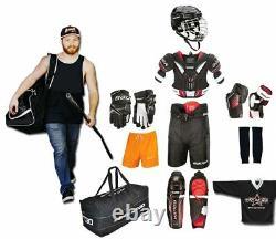 Eishockey Starter Set Bauer S18 10-teilig Erwachsene Senior
