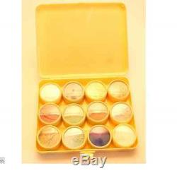 Enamel powders set of 12 Opaque starter set kit enamelling enamels TE01