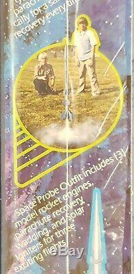 Estes model rocket Black Hole Space Probe outfit starter set 1350 vintage
