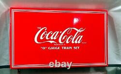 Factory Sealed K-Line O Gauge Coca Cola 7-Unit Electric Train Set Stock# K-1907