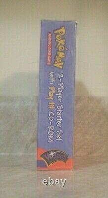 Factory Sealed WOTC Pokemon Base Set 2 Two Player Starter Set Deck with CD-Rom