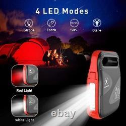 Flylinktech 2500A Peak 24000mAh Car Jump Starter Portable Jump Pack Auto Battery