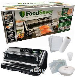 FoodSaver FM5440 2-in-1 Vacuum Preservation Sealer Set Package + Starter Kit