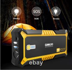 GOOLOO 4000A Peak SuperSafe Car Jump Starter All Gas, up to 10.0L Diesel Engine