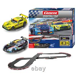 GT Race Battle 7,3m Starter Set Rennbahn Carrera Digital 132 Autorennbahn 132