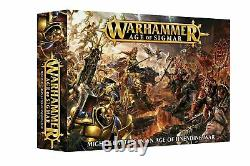 GW Warhammer Age of Sigmar Starter Box Set 1st Edition Stormcast Khorne NIB OOP