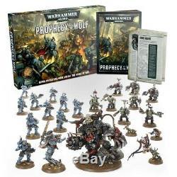 Games Workshop Warhammer 40K PROPHECY OF THE WOLF Starter Set Orks Space Wolves