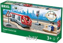 Großes BRIO Mega Sparpaket Set City Frachten Reisezug Bahn Starter Holzeisenbahn