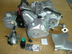 HMParts Motor Set 50 ccm vollautomatik Anlasser / E-starter oben
