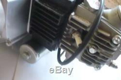 HMParts Pitbike Monkey 4-Gang Motor Set 110ccm halbautom. Kick & E-Starter unten