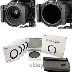 Haida Optical Serie 100 Starterset II Halter, 3x ND Filter, 1x CPL, Tasche
