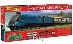 Hornby R1202 Mallard Pullman Complete Starter Train Set (Latest)