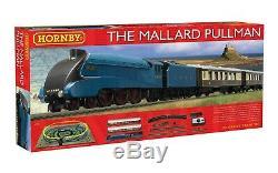 Hornby R1202 Mallard Pullman Electric Set Oo Gauge Steam Loco DCC Ready