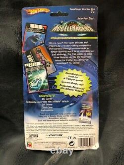Hot Wheels Acceleracers collectable card game Starter Set