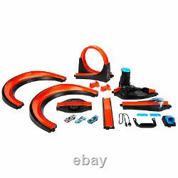 Hot Wheels id Smart Track Starter Kit Set with 3 Exclusive Cars and Race Portal