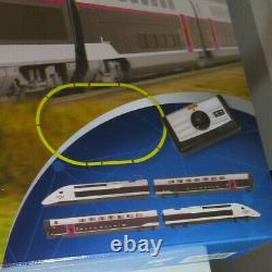 Jouef HJ1060 Starterset TGV Duplex mit Gleisen und Trafo OVP NEU