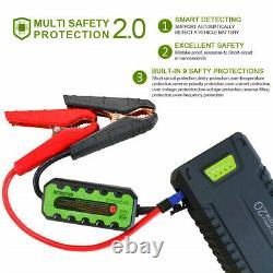 Jump Starter 20000mAh 1000Amp Lithium Smart Boost 12V Battery Power Bank Fridge